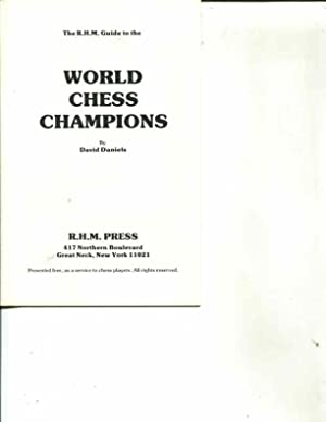 The R.H.M. Guide to the World Chess: David Daniels