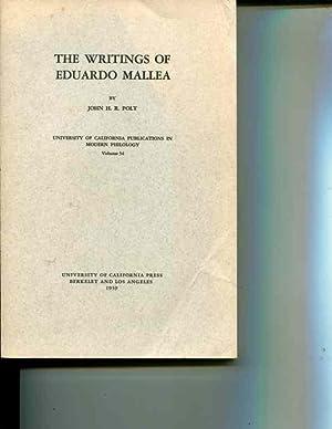 The Writings of Eduardo Mallea: Polt, John H.R.