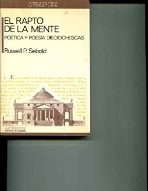 RAPTO DE LA MENTE, EL (Autores, textos: Sebold, Russell