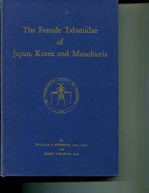 The female Tabanidae of Japan, Korea, and Manchuria: Murdoch, Wallace P. Takahashi, Hiroshi,