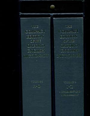 The Compact Edition of the Oxford English Dictionary. 1, A ...