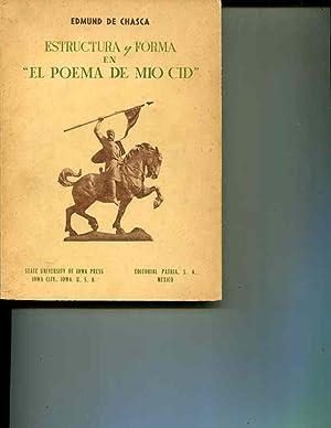 ESTRUCTURA Y FORMA EN 'EL POEMA DE MIO CID': de Chasca, Edmund