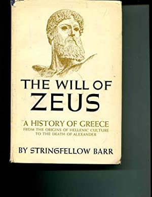 The Will of Zeus: Barr, Stringfellow