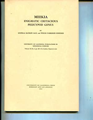 Meekia, enigmatic Cretaceous pelecypod genus, (University of: Louella R Saul