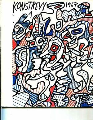 Konstrevy, Nr.1, 1967, XLIII: JEAN DUBUFFET