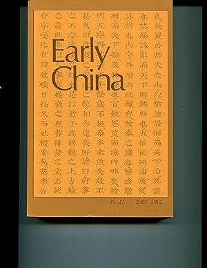 Early China, #26-27: Various