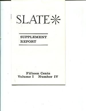 UC Berkeley Slate Supplement Report, 1964 Vol. 1, Number IV: Phil Roos, Editor