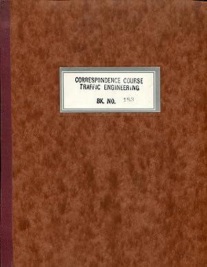 Correspondence Course Traffic Engineering
