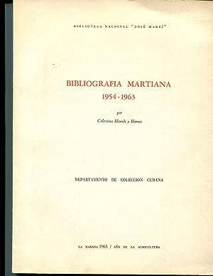 BIBLIOGRAFIA MARTIANA, 1954-1963: Celestino Blanch y Clanco