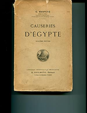 Causeries d'Egypte: Gaston Maspero