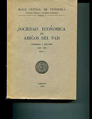 Sociedad Economica de Amigos del Pais Memorias & Estudios 1829-1839 Tomo I & II
