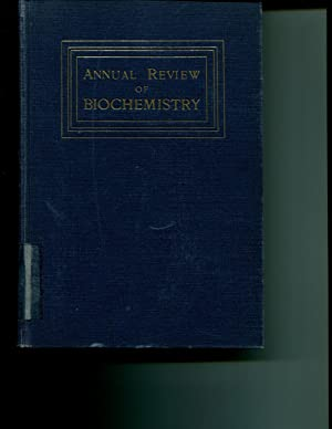 Annual Review of Biochemistry VII (7): Luck, James Murray and Carl R. Noller