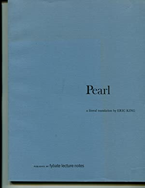 Pearl: A Literal Translation: Eric King