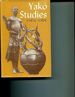 Yako Studies.: Forde, Daryll