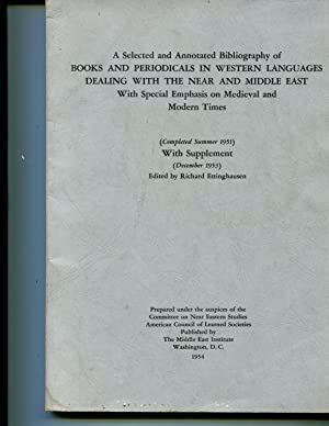 A selected and annotated bibliography of books and periodicals in Western languages dealing with ...