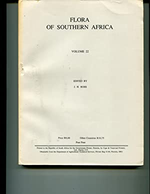 Flora Of Southern Africa Vol.22: Ross, J. H.