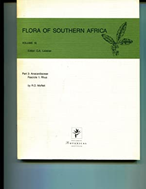 Flora of Southern Africa, Vol. 19, Part 3: Anacardiaceae, Fascicle 1: Rhus: Leistner, O.A. (Editor)...