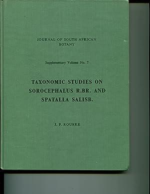Taxonomic studies on Sorocephalus R. Br. and Spatalla Salisb,: Rourke, John P.