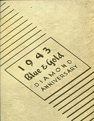 1943 University of California Berkeley Yearbook BLUE GOLD Vol. 70 Diamond Anniversary Edition: ...