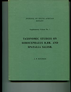 Taxonomic Studies On Sorocephalus: Rourke, J. P.