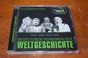 Bedeutende Personen der Weltgeschichte - Ramses II./Buddha/Konfuzius/Sokrates