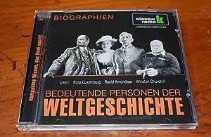 Bedeutende Personen der Weltgeschichte - Lenin/Rosa Luxemburg/Roald Amundsen/Winston...
