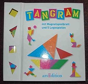 Tangram mit Magnetspielbrett und 5 Legespielen
