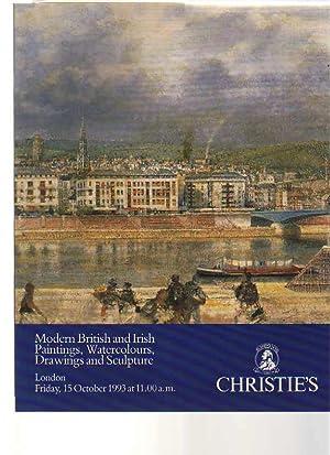 Christies 1993 Modern British & Irish Paintings,: Christies