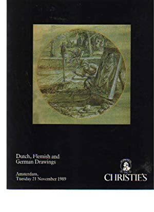 Christies 1989 Dutch, Flemish & German Drawings