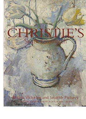 Christies 2004 British, Victorian & Scottish Pictures: Christies
