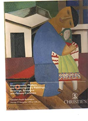 Christies 1995 Impressionist & Modern Pictures, Picasso: Christies