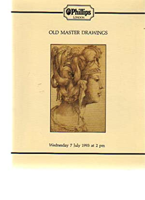 Phillips July 1993 Old Master Drawings