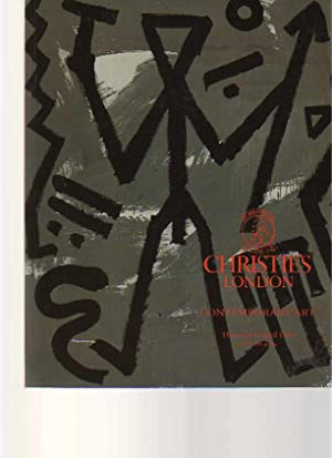 Christies April 1989 Contemporary Art: Christies