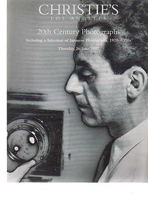 Christies 1997 20th Century Photographs (inc. Japanese): Christies