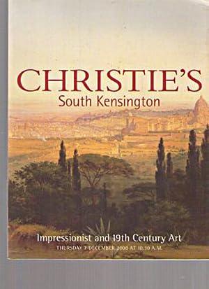 Christies 2000 Impressionist and 19th Century Art: Christies