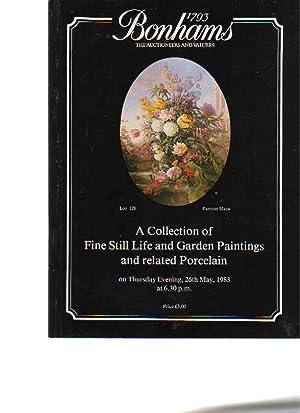 Bonhams 1983 Stiill Life & Garden Paintings: Bonhams