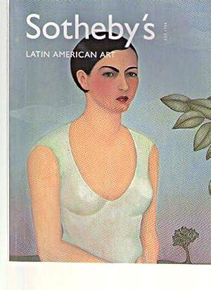 Sothebys 2001 Latin American Art: Sothebys
