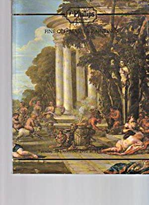 Phillips 1991 Fine Old Master Paintings: Phillips