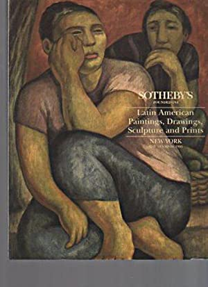 Sothebys 1993 Latin American Paintings, Drawings, Sculpture: Sothebys