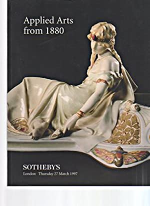 Sothebys March 1997 Applied Arts from 1880: Sothebys