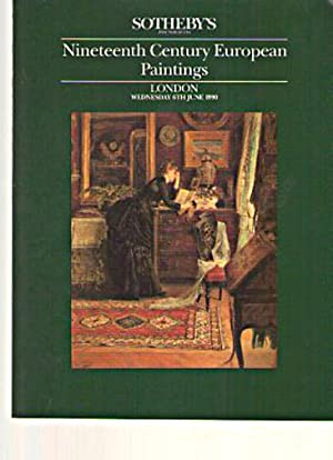 Sothebys June 1990 19th Century European Paintings: Sothebys