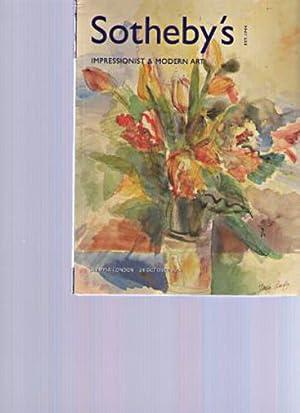 Sothebys 2001 Impressionist & Modern Art: Sothebys