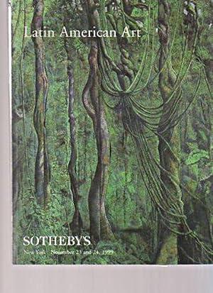 Sothebys November 1999 Latin American Art: Sothebys