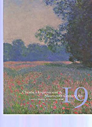 Christies December 1998 Impressionist & 19th Century: Christies