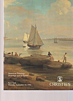 Christies September 1994 American Paintings, Drawings &: Christies