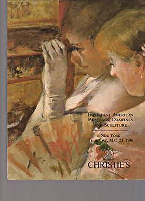 Christies 1996 Important American Paintings & Drawings: Christies