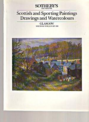 Sothebys 1985 Scottish & Sporting Paintings: Sothebys