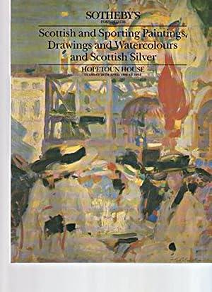 Sothebys 1988 Scottish Silver & Sporting Paintings: Sothebys