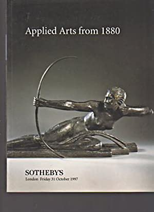 Sothebys 1997 Applied Arts from 1880: Sothebys