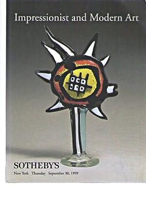Sothebys September 1999 Impressionist & Modern Art: Sothebys